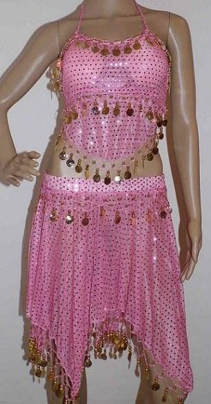 13feae4189a Kostým na břišní tance dívčí