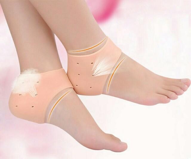 Silikonové hydratační gelové ponožky na paty 4eafba7c3c