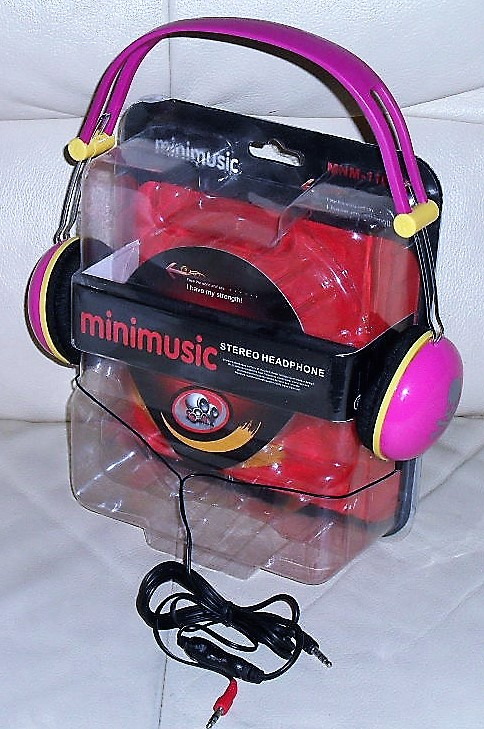 Stereo Headphone MNM-1100MV, vzor lebek