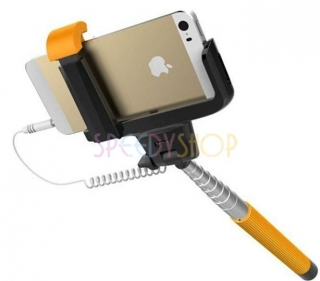 Wireless Mobile Phone Monopod Z07-5 plus, orange