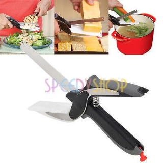Magical Scissors Knife 2in1
